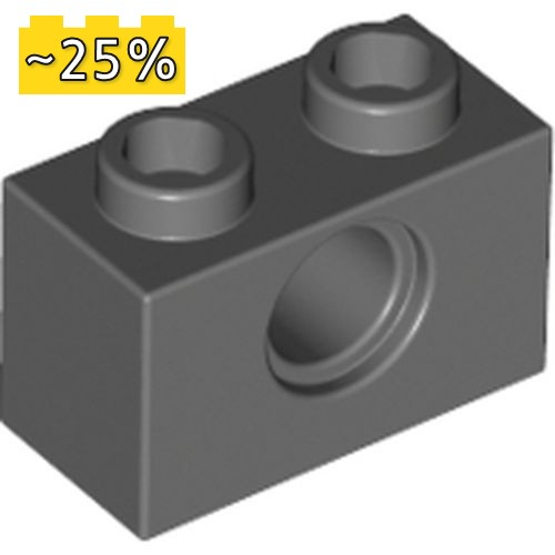 LEGO NEW 1x2 Black Technic Brick with 2 Holes 10x 3200026 Brick 32000