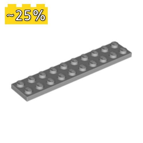 LEGO NEW 3x3 Light Bluish Grey Plate without Corner 10x 4211361 Brick 2450